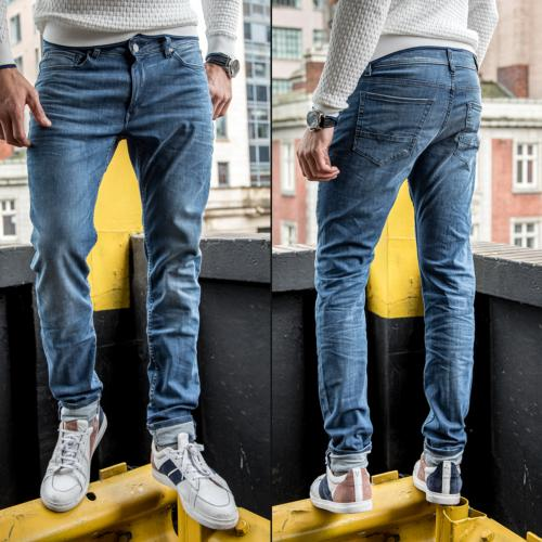 Jean Freeman T Porter homme Dustee Slim Light Blue