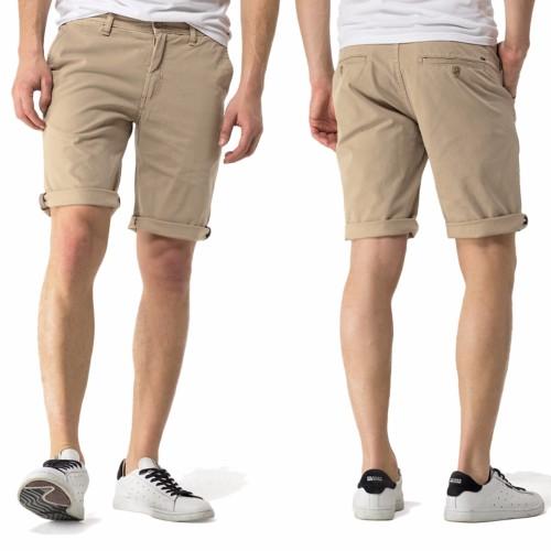 chino short bermuda homme tommy hilfiger jeans beige. Black Bedroom Furniture Sets. Home Design Ideas