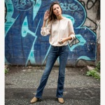 Jean bootcut femme Freeman T Porter Betsy chicago