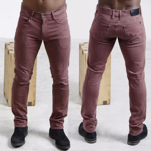 Pantalon homme Freeman T Porter Jimmy Bordeaux