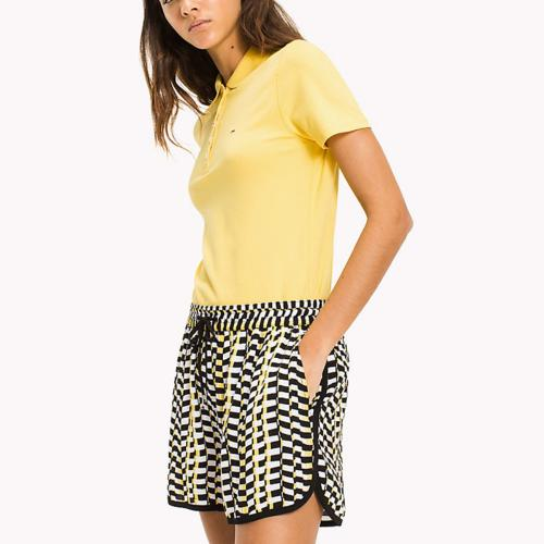 Polo femme Tommy Hilfiger Jeans jaune