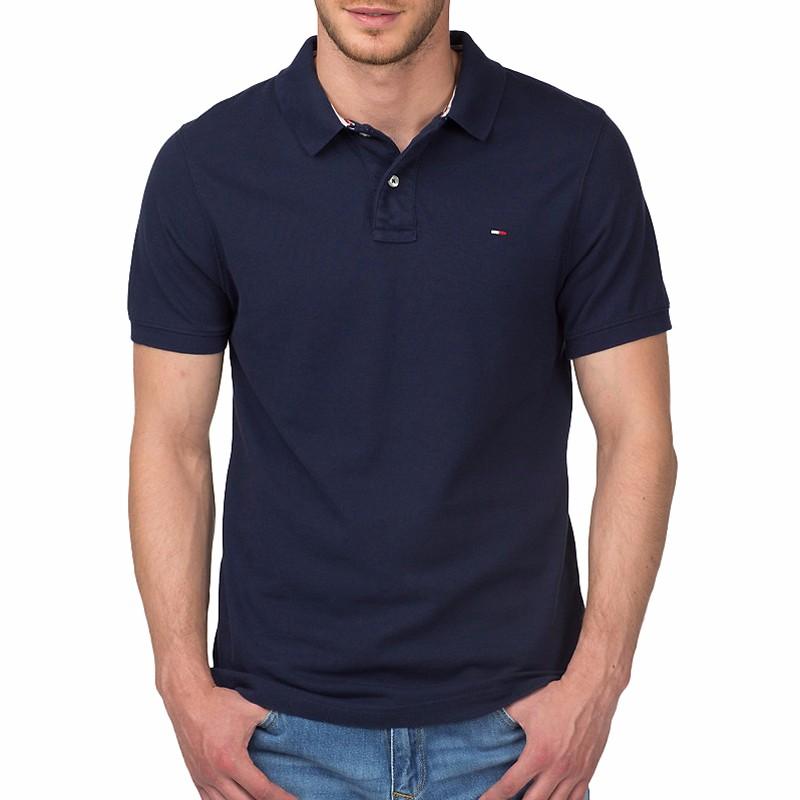 Polo bleu Tommy Hilfiger