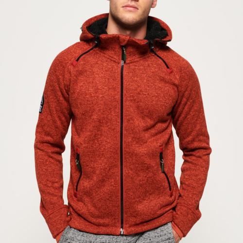 Veste polaire Superdry Storm orange chiné