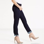 Jean femme Levi's ® 712 brut to the nine