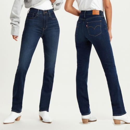 Jean Levi's ® femme 724 High Rise straight coupe droite taille haute Bogota Calm