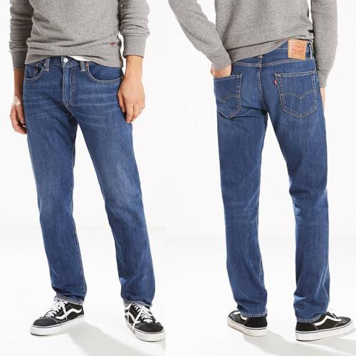 Jean Levis 502 Franklin Ltwt Warp coupe regular taper pour homme
