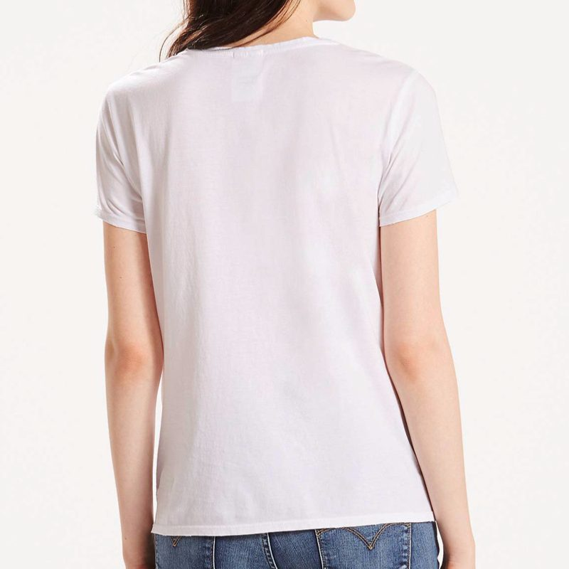 T Femme Blanc Shirt Ecosia Shirt T PIwxEqtcd