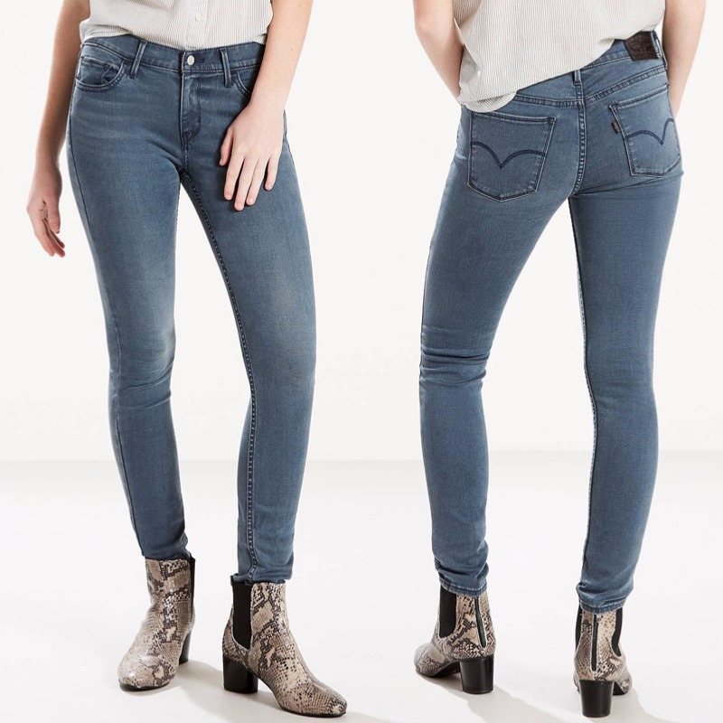 9278e12066037 Jean Levis femme 710 Innovation Super Skinny moon song ...