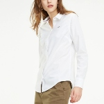 Chemise blanche Tommy Hilfiger femme coupe slim fit