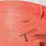 Jean femme Freeman T Porter Coralie Magic Color orange