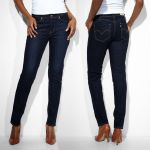 Jean Levis femme Revel coupe droite straight wandering vision