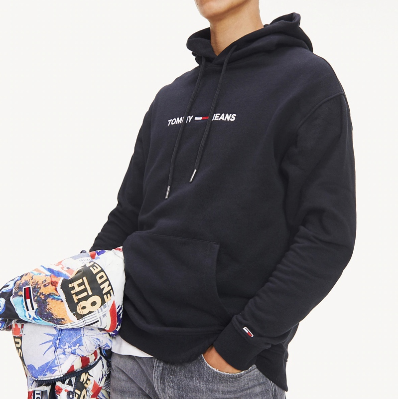 Tommy Hilfiger Tommy Logo Hoody Sweat à Capuche Homme