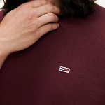 Sweat Tommy Hilfiger Jeans homme bordeaux