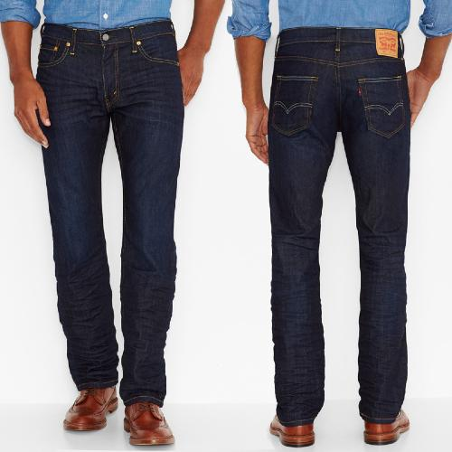 Jeans Levis 504 The Rich coupe droite straight