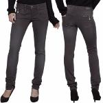 Jean Pantalon slim femme Freeman T Porter Alexa Magic Color couleur Moon Rock