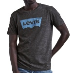 T Shirt Levis homme Housemark Graphic Tee gris anthracite