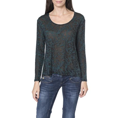 Top Freeman T Porter femme modèle Talmine deep teal