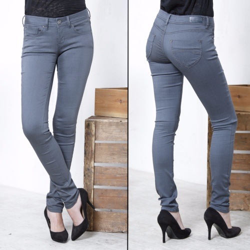 Jean femme Freeman T Porter Clara Magic Denim gris coupe slim