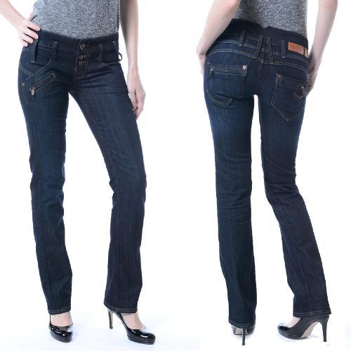Jean freeman porter amelie colorado eclipse - Jeans femme taille haute coupe droite ...
