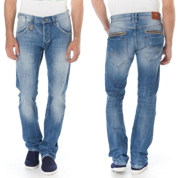 Jeans homme Freeman Porter Puneat Forsan coupe droite