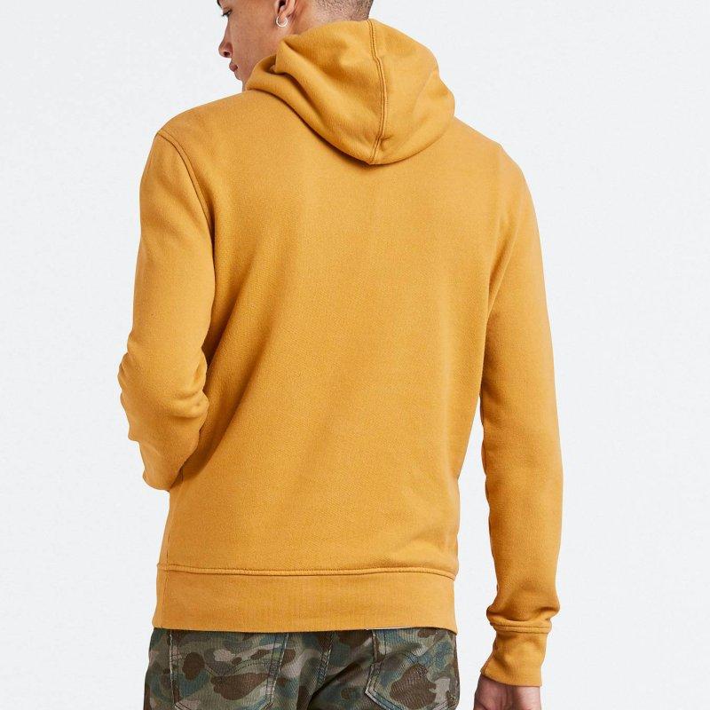 magasin en ligne d0a1a d30cb Jaune Pour Capuche À Rouge Logo Homme Sweat Levis P4XfBB