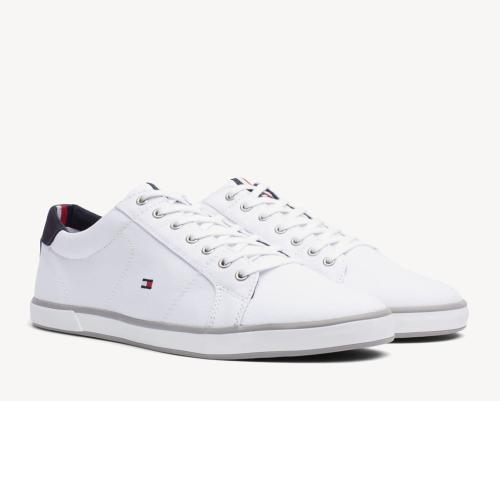 Chaussures Tommy Hilfiger blanches modèle Harlow