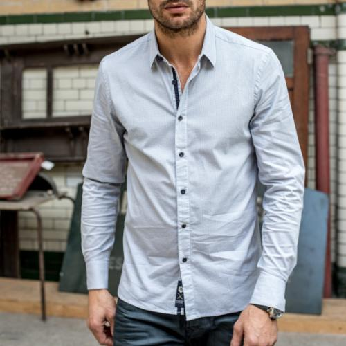Chemise Freeman T Porter homme Come Sign