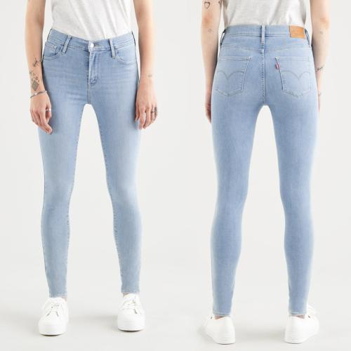 Jeans Levi's ® 720 high rise super skinny taille haute clair
