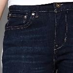 jean levis femme Demi Curve coupe droite taille haute délavage Marfa Sky
