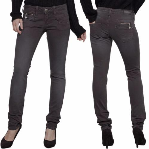 jean Freeman T Porter Alexa slim femme magic color gris moon rock