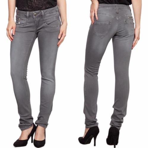 jean Freeman T Porter Alexa slim femme magic color gris clair pepper corn