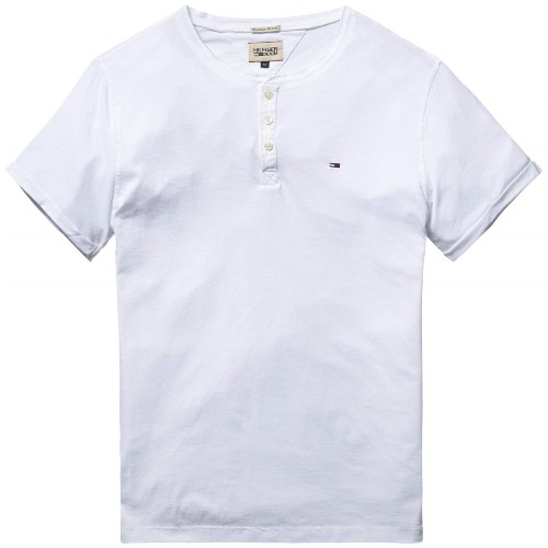 Tee Shirt homme Tommy Hilfiger modèle Cooper blanc