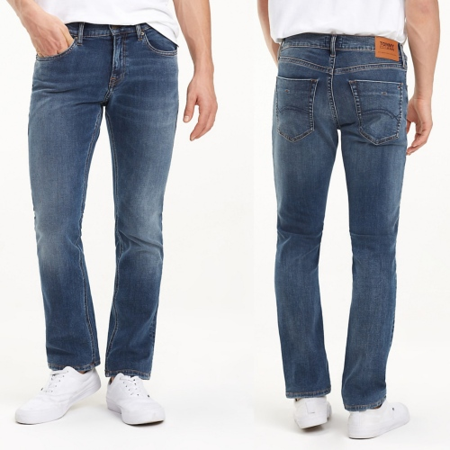 Jeans Tommy Hilfiger homme Scanton slim Dynamic Rex Dark Blue Stretch