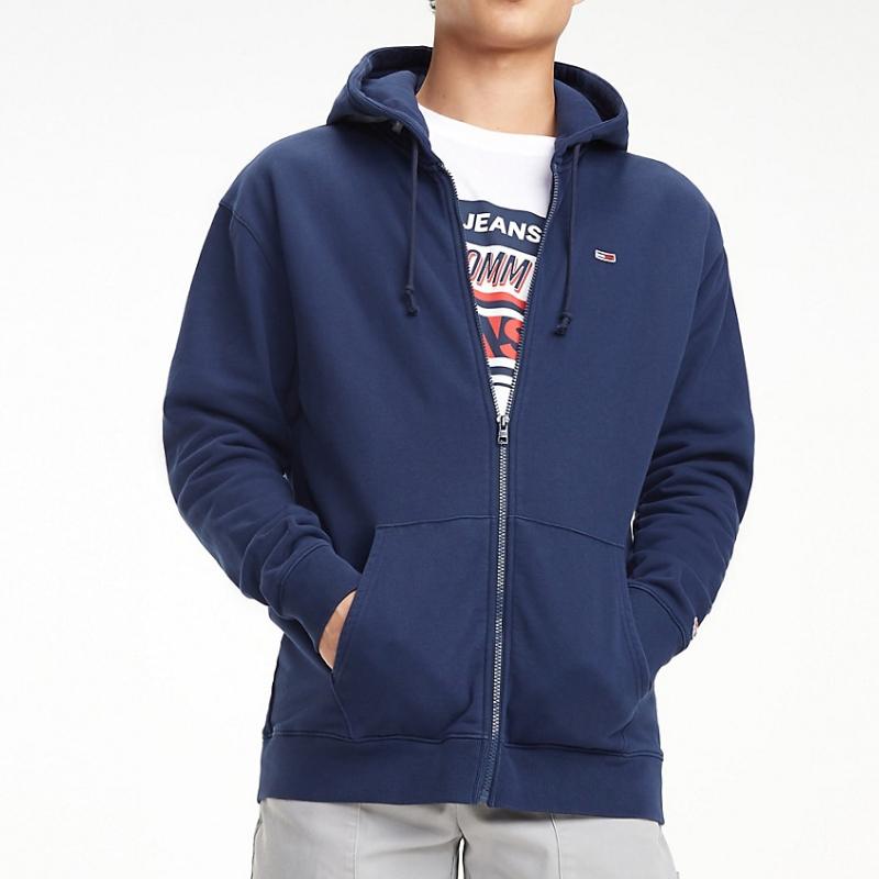 7addab7050b36 Veste Sweat zippé Tommy Hilfiger Jeans pour homme bleu marine ...