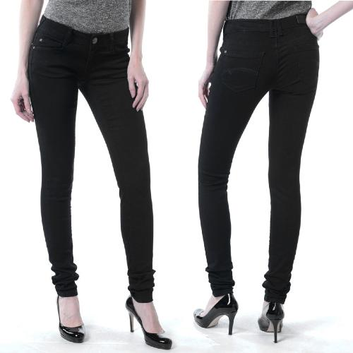 Jean femme Freeman T Porter Delora magic denim Noir