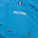 Short de bain Tommy Hilfiger Flag Trunk bleu